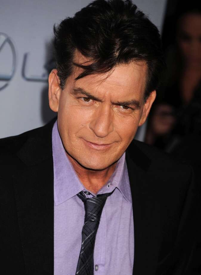 Winning! Or not ... Charlie Sheen was the butt of 48 jokes made by Jay Leno.
