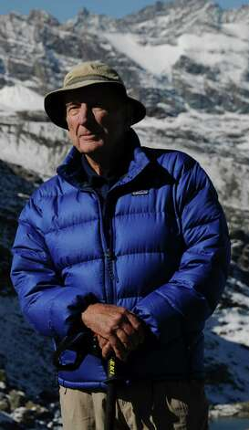 "Jonathan Calvert, 83, of San Antonio is a retired mountain climber, photographer and author of soon-to-be-released ""The Urge to Know."""