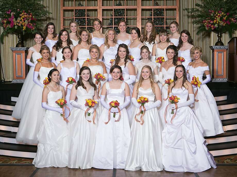Front, from left: Chloe Hanschen, Mary Kate Engstrom, Amanda Rutherford, Madeleine Nicolaisen, Christina Romak. Second row: Safira Wulfsberg- Gesmundo, Elizabeth Goetz, Kaitlyn Haithcock, Lucy Spurlock, Sophia Zeff, Lauren Dougherty, Isabella Wulfsberg-Gesmundo. Third row: Elise Lasky, Kristina Lorch, Kendall Kovalik, Sofia Lavdiotis, Meredith Phillips, Danielle Yancey, Elizabeth Corvin. Back Row: Kaitlyn Fuller, Nicole Klepper, Allison Quantz, Megan Howard, Alison Pietrykowski, Claire Hebert. Photo: Tk, Special To The Chronicle