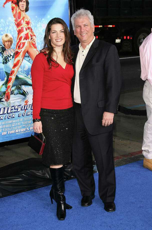 "She also had a small role in the Will Farrell movie ""Blades of Glory."" Here Kerrigan and husband, Jerry Solomon, attended the premiere in Los Angeles on March 27, 2007 Photo: Jason Merritt, Getty Images / FilmMagic"