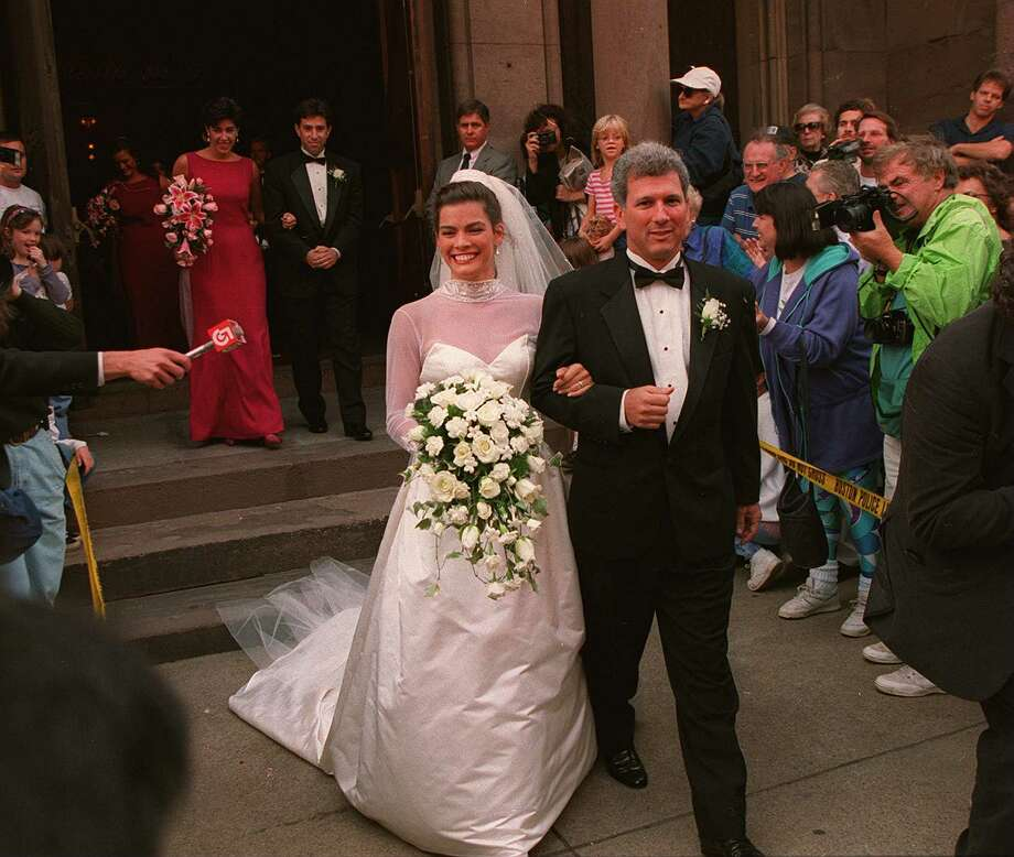 Kerrigan and Solomon wed on Sept. 9, 1995. Photo: Boston Globe, Getty Images / 2011 - The Boston Globe