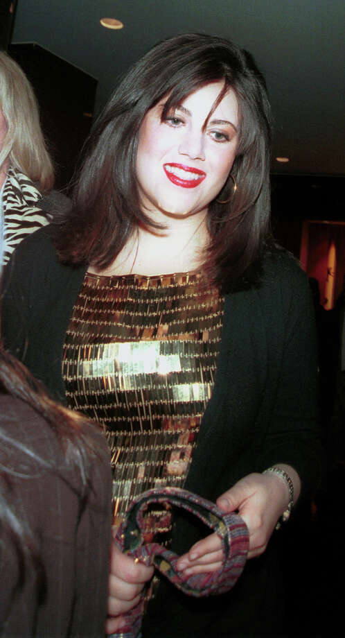 Former White House intern Monica Lewinsky leaves the 2000 New York Magazine Awards December 4, 2000 at Studio 8H at Rockefeller Center in New York City. Photo: Mario Magnani, Getty Images / Hulton Archive