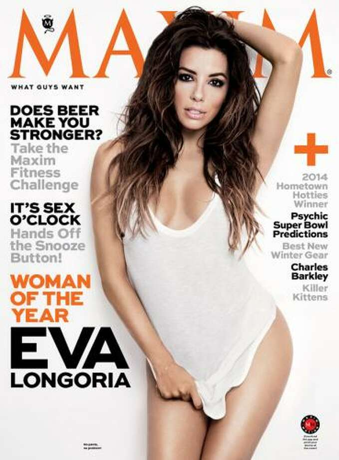 Maxim named Eva Longoria Woman of the Year. Photo: Maxim