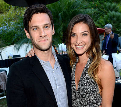 Hangover star Justin Bartha welcomed his first child, a daughter, with wife Lia Smith on April 13. / 2012 WireImage