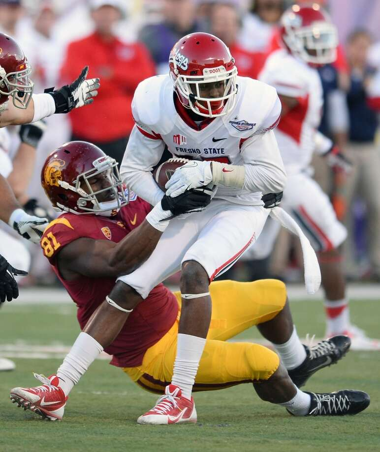 Davante Adams  Position: Wide receiver  School: Fresno State Photo: Ethan Miller, Getty Images