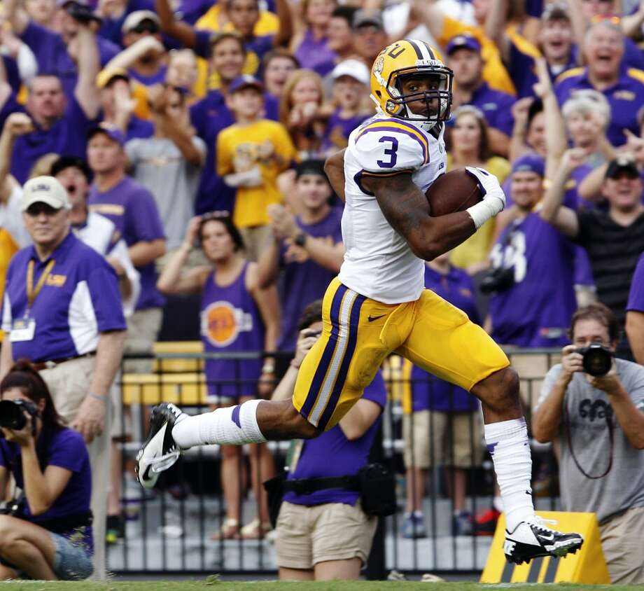 Odell Beckham  Position: Wide receiver  School: LSU Photo: Bill Haber, Associated Press