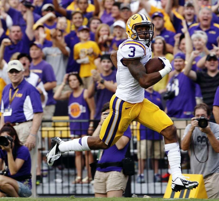 Odell Beckham  Position: Wide receiver  School: LSU Photo: Bill Haber, Associated Press