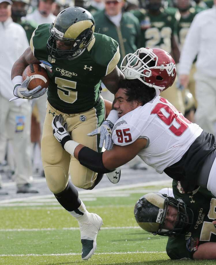 Kapri Bibbs  Position: Running back  School: Colorado State Photo: Matt York, Associated Press