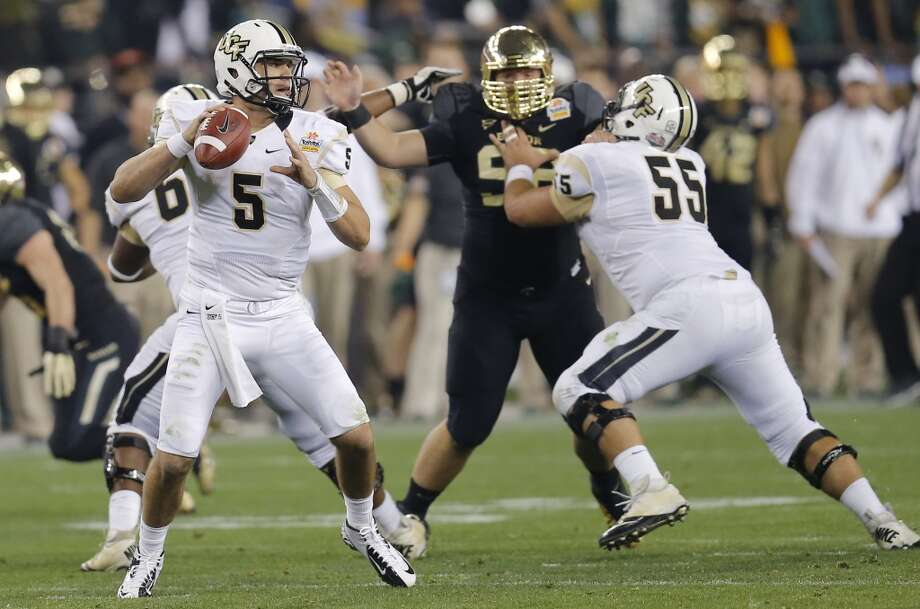 Blake Bortles  Position: Quarterback  School: UCF Photo: Matt York, Associated Press