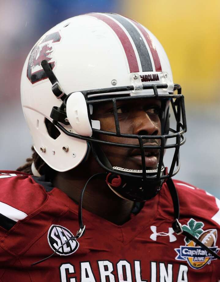 Jadeveon Clowney  Position: Defensive end  School: South Carolina Photo: Scott Halleran, Getty Images