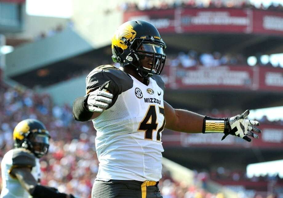 Kony Ealy  Position: Defensive end  School: Missouri Photo: Grant Halverson, Getty Images