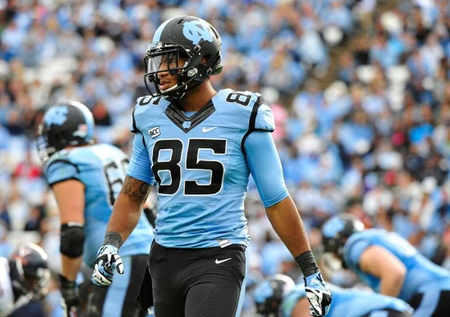 Eric Ebron  Position: Tight end  School: North Carolina Photo: Grant Halverson, Getty Images
