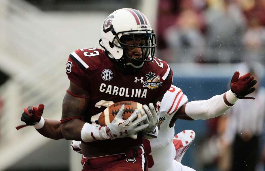 Bruce Ellington  Position: Wide receiver  School: South Carolina Photo: Scott Halleran, Getty Images