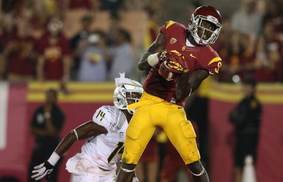 Marqise Lee  Position: Wide receiver  School: USC Photo: Stephen Dunn, Getty Images