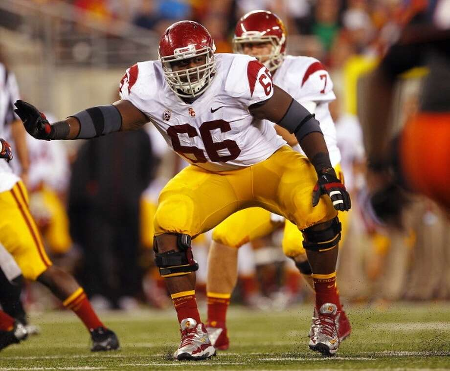 Marcus Martin  Position: Center  School: USC Photo: Rich Schultz, Getty Images