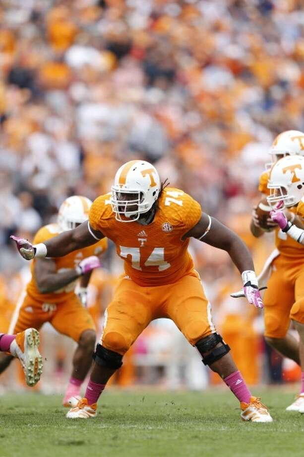 Antonio Richardson  Position: Offensive tackle  School: Tennessee Photo: Joe Robbins, Getty Images