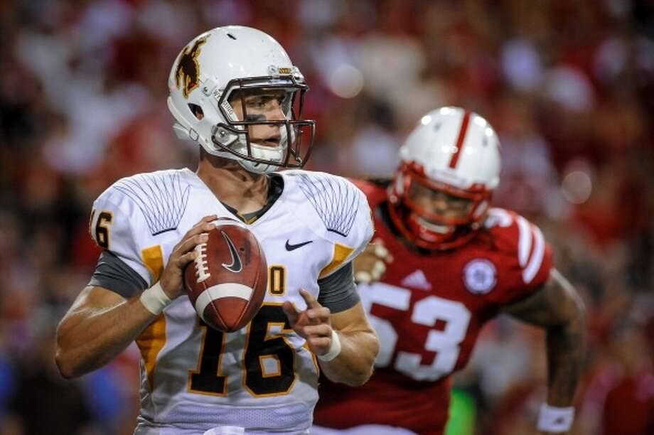 Brett Smith  Position: Quarterback  School: Wyoming Photo: Eric Francis, Getty Images