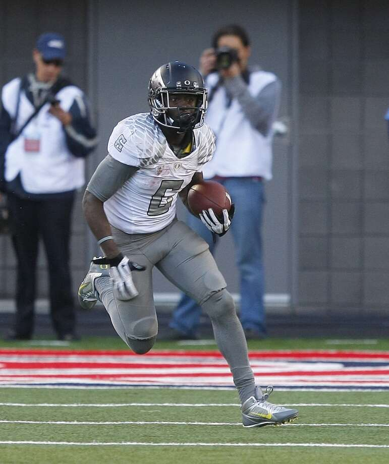 De'Anthony Thomas  Position: Running back/wide receiver  School: Oregon Photo: Rick Scuteri, Associated Press