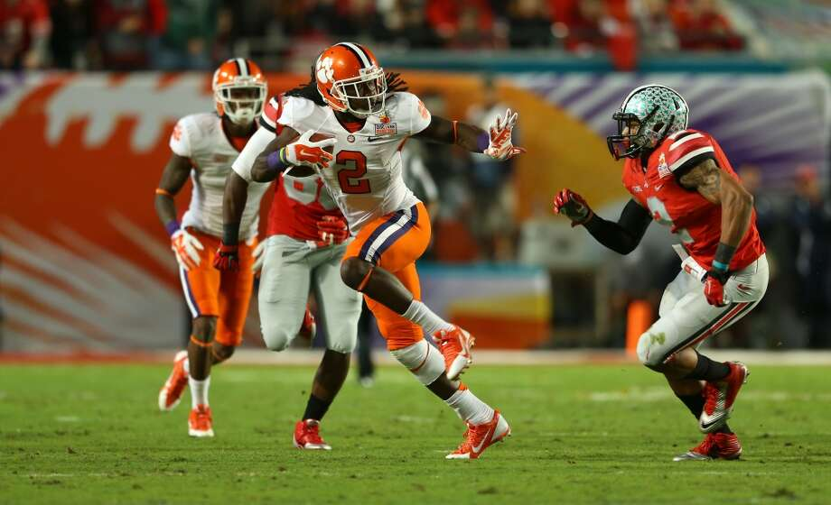 Sammy Watkins  Position: Wide receiver  School: Clemson Photo: Mike Ehrmann, Getty Images