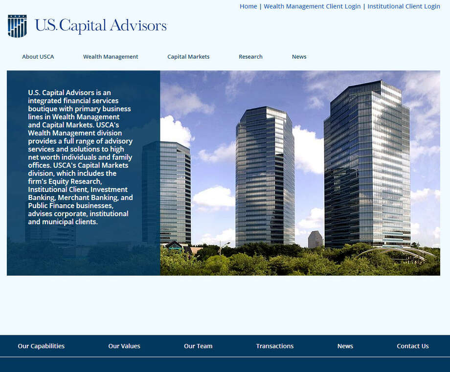 Houston-based U.S. Capital Advisors, a financial firm, got a shout-out in Forbes' annual 30 under 30 list. Research Director Cameron Horwitz, 29, made the list in the Finance category for his work.Check out who Forbes named No. 1 in each of its categories, from Music to Media.Source: Forbes