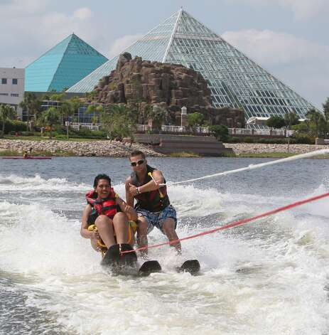 Much like their Egyptian counterparts, will Moody Gardens' pyramids become a thing of the past? NASA