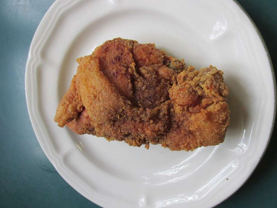 The infamous fried chicken at Big John's Grill. Grace Mathis/cat5