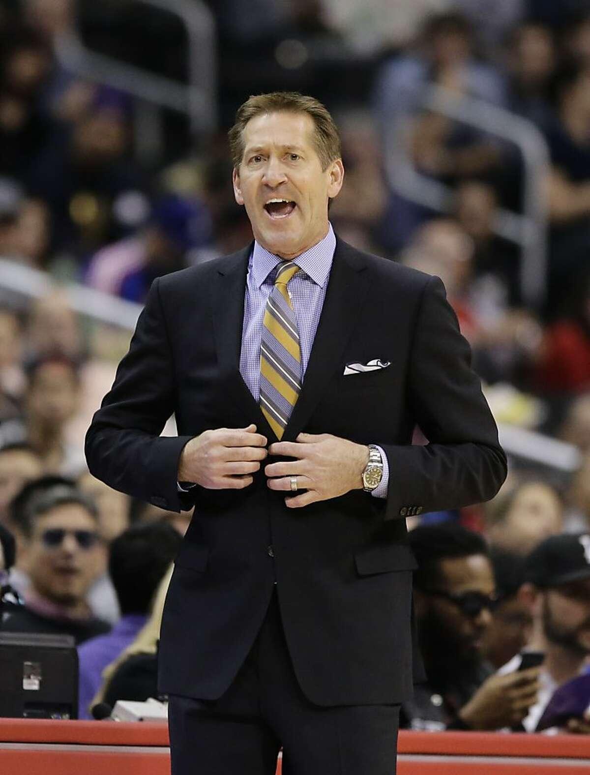 Phoenix Suns head coach Jeff Hornacek.
