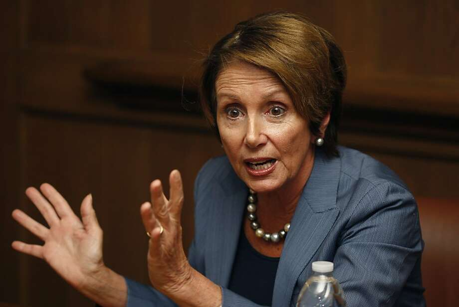 House Minority Leader Nancy Pelosi Photo: Liz Hafalia, The Chronicle