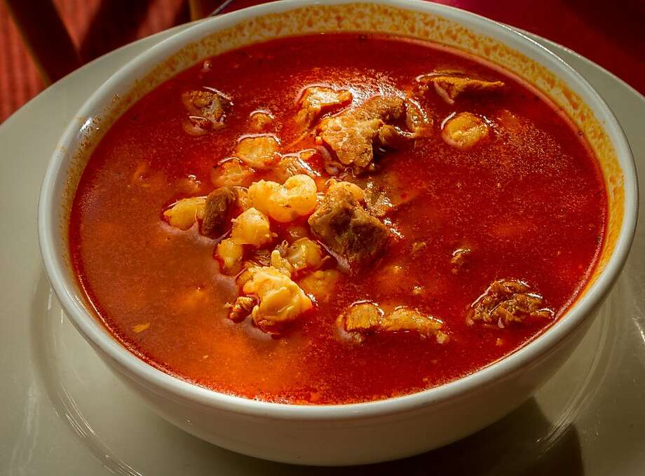 Pozole at Gallardo's Mexican restaurant in San Francisco. Photo: John Storey, Special To The Chronicle