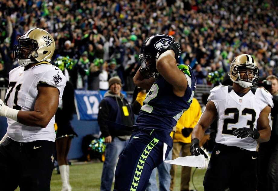 "What people are saying as the Seahawks prepare for the Saints  The Seattle Seahawks kick off their postseason Saturday when they host the New Orleans Saints at CenturyLink Field in a divisional playoff game. The Saints advanced by winning their first road playoff game in franchise history -- a 26-24 comeback victory over the Philadelphia Eagles last Saturday. New Orleans now returns to the scene of its worst loss of the season: a 34-7 beatdown at the hands of Michael Bennett (above) and the rest of the Seahawks in a nationally televised ""Monday Night Football"" matchup Dec. 2  in Seattle.  Will Saturday's outcome be any different? Why or why not? That's what football pundits are talking about this week. Click through the gallery to see what people are saying about the upcoming divisional round contest. Photo: Otto Greule Jr, Getty Images"