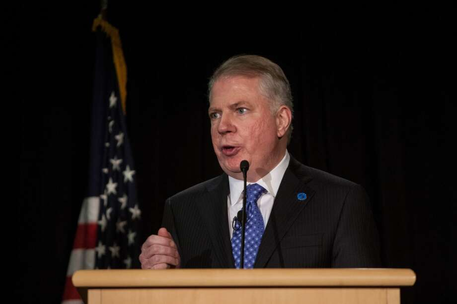 Seattle Mayor Ed Murray speaks after being sworn-in. Photo: JOSHUA TRUJILLO, SEATTLEPI.COM
