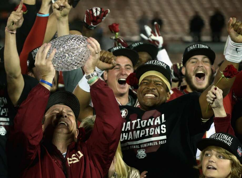 VIZIO BCS National Championship  Jan. 6: Florida State 34, Auburn 31  After a slow start, the Seminoles came alive in the second half to win an exciting final BCS championship game. Photo: Stephen Dunn, Getty Images