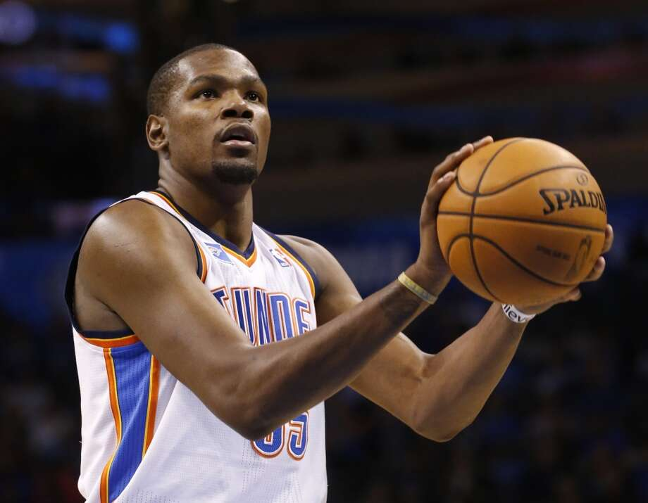 1. Oklahoma City Thunder (27-7)   December ranking: 5   Preseason ranking: 6Oklahoma City might not stay here for long without Russell Westbrook, but they are 4-2 since he went out and Kevin Durant is dominating with attitude. Photo: Sue Ogrocki, Associated Press