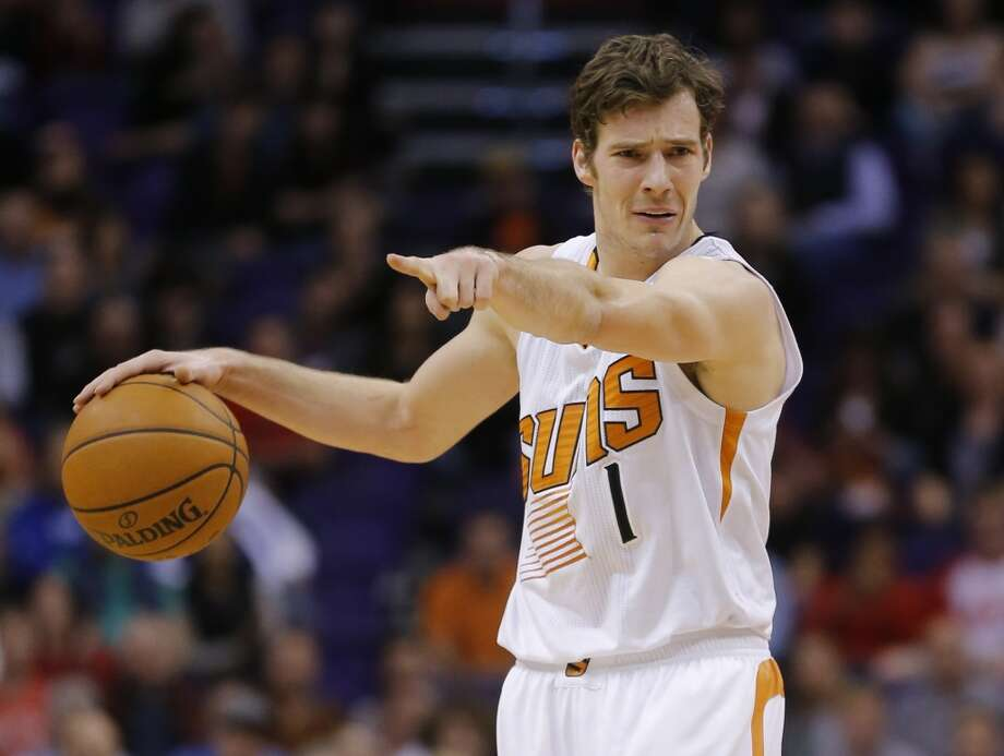 9. Phoenix Suns (20-12)  December ranking: 12  Preseason ranking: 29  The backcourt combination of Goran Dragic and Eric Bledsoe has been sensational, with Bledsoe due back this week. Just in case, the Suns will bring back Leandro Barbosa, who should fit in well, on a 10-day contract. Photo: Matt York, Associated Press