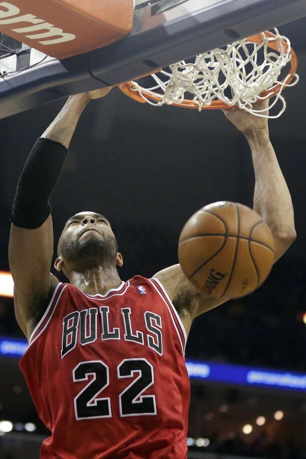 16. Chicago Bulls (14-18)  December ranking: 18  Preseason ranking: 3The Bulls face the Suns looking for their first three-game winning streak since Derrick Rose went out. After that, they have a much softer schedule to begin to build some momentum. Photo: Danny Johnston, Associated Press