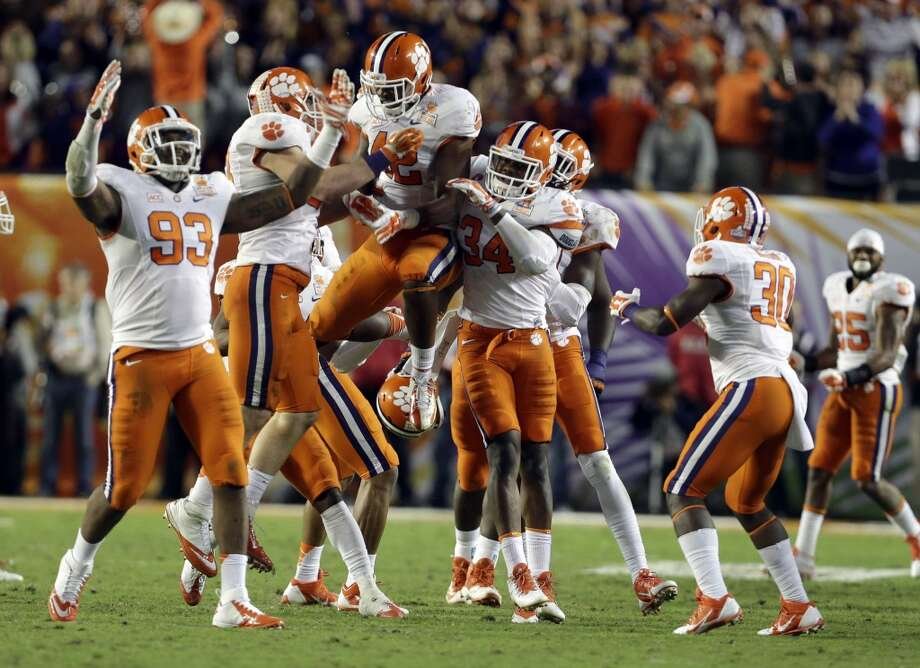 8. Clemson (11-2) Previous ranking: 12 Photo: Lynne Sladky, Associated Press