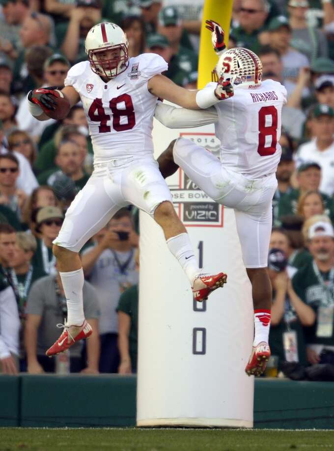 11. Stanford (11-3) Previous ranking: 5 Photo: Mark J. Terrill, Associated Press