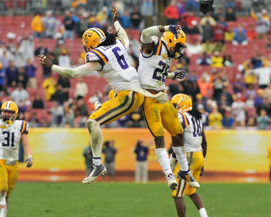 14. LSU (10-3) Previous ranking: 14 Photo: Al Messerschmidt, Getty Images