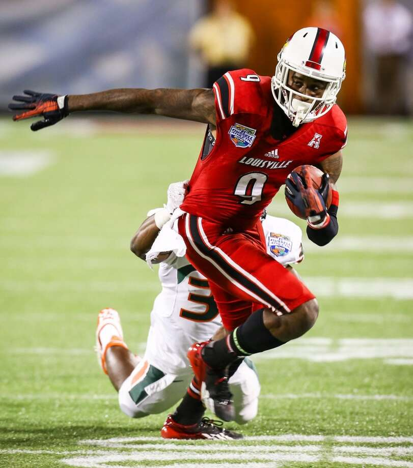 15. Louisville (12-1) Previous ranking: 18 Photo: Joshua C. Cruey, Orlando Sentinel/MCT