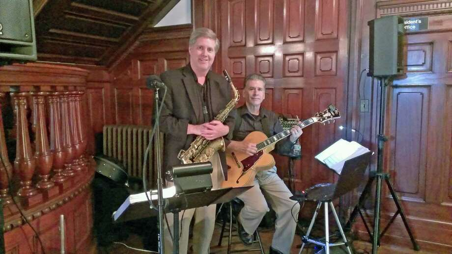 The jazz duo of Rick Sadlon, left, and Thom Gomez will be performing at the Roger Sherman Inn, 195 Oenoke Ridge, New Canaan, Friday, Jan. 10. Photo: Contributed Photo, Contributed / New Canaan News Contributed