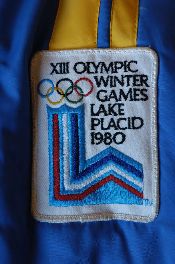An official 1980 Lake Placid Olympics patch. Photo: WW, WILL WALDRON / ALBANY TIMES UNION