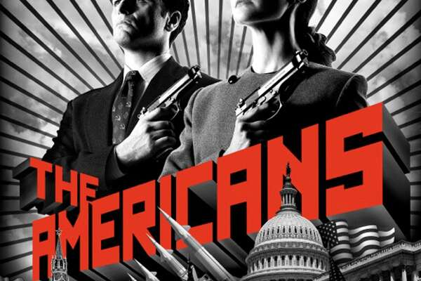 """THE AMERICANS - What a glorious surprise this FX period drama was. Set in Reagan-era Washington, it gets the Cold War details perfect; the 80s have never been so accurately and so non-campily portrayed. The high concept premise - Russian spies are groomed from an early age to """"be"""" Americans so they can eventually infiltrate our system - is never anything less than truthful due to the masterful writing, directing and especially, acting. I always knew Keri Russell was a good actress, but who could foresee what a kickass she could be? And all I ever knew of Matthew Rhys was that he was on """"Brothers & Sisters,"""" a show I didn't watch. Was he this good on that? He's a revelation. One of my favorite performances of the year. Both he and Russell  play Soviets pretending to be U.S. suburbanites, all while playing scores of other characters in various stings and scams. And those wigs! Add in the always dependable Noam Emmerich as the FBI agent next door (Yup.), and stellar supporting work from the likes of the deliciously malevolent Margo Martindale as a lethal KGB handler and an un-John-Boy-like Richard Thomas as an FBI division head. (Seriously, still with the John-Boy jokes?) I'm barely containing myself until the second season premiere ---- next month!"""