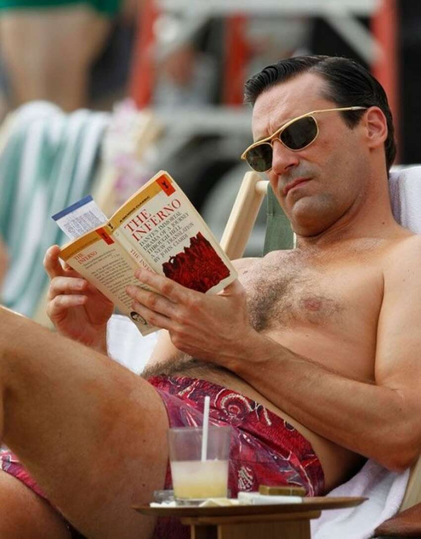 Jon Hamm may lack a gym-toned body, but not sex appeal.