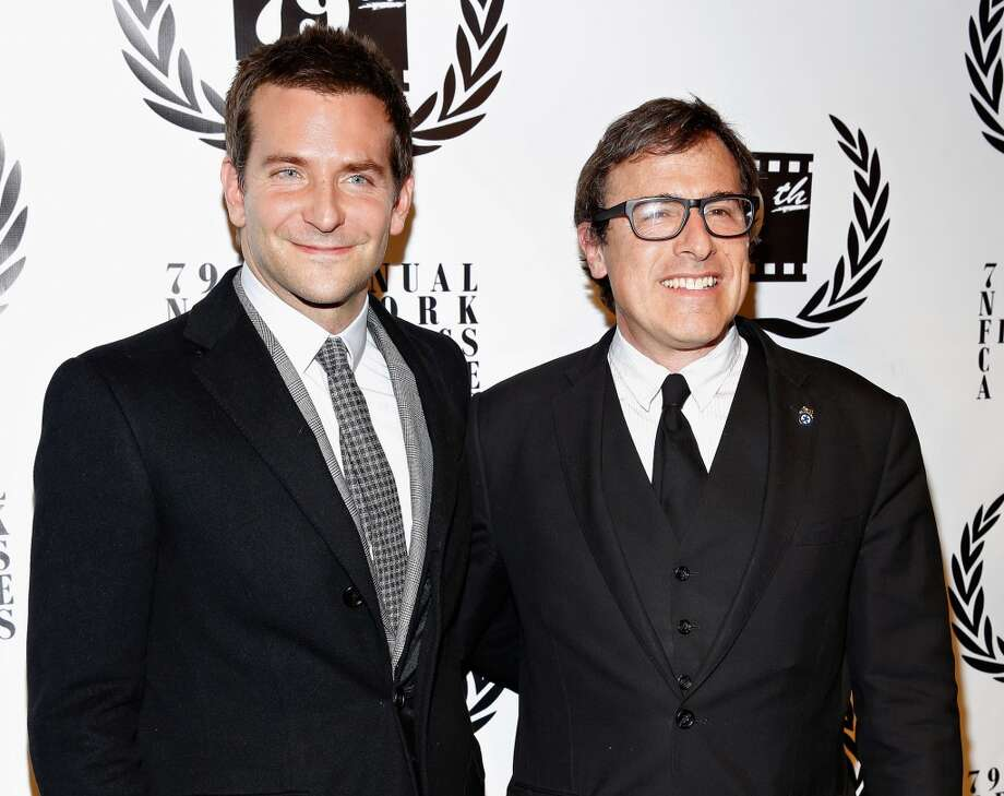 Actor Bradley Cooper and director David O. Russell attend the 2013 New York Film Critics Circle Awards Ceremony at The Edison Ballroom on January 6, 2014 in New York City. Photo: Cindy Ord, Getty Images
