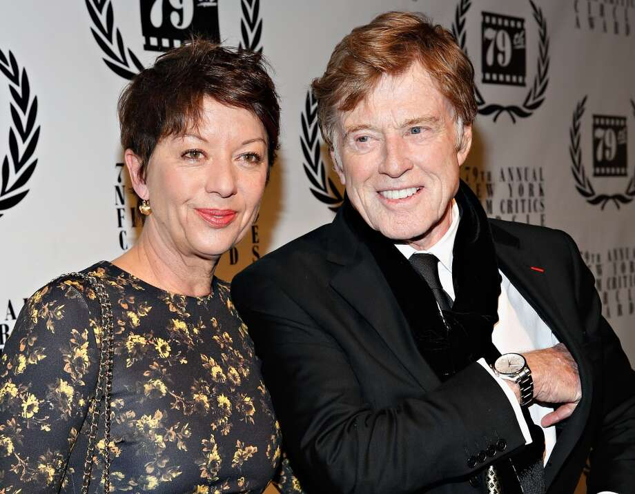 Artist Sibylle Szaggarsctor and actor Robert Redford attend the 2013 New York Film Critics Circle Awards Ceremony at The Edison Ballroom on January 6, 2014 in New York City. Photo: Cindy Ord, Getty Images