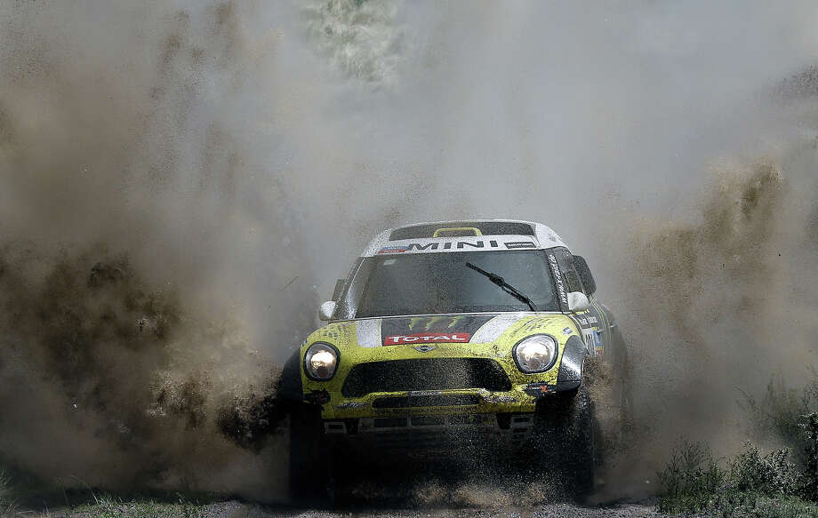 2014 marks the 35th running of the rally which traditionally is run between Paris and Dakar, Senegal, but is in its sixth successive in South America. Photo: FRANCK FIFE, AFP/Getty Images / 2014 AFP