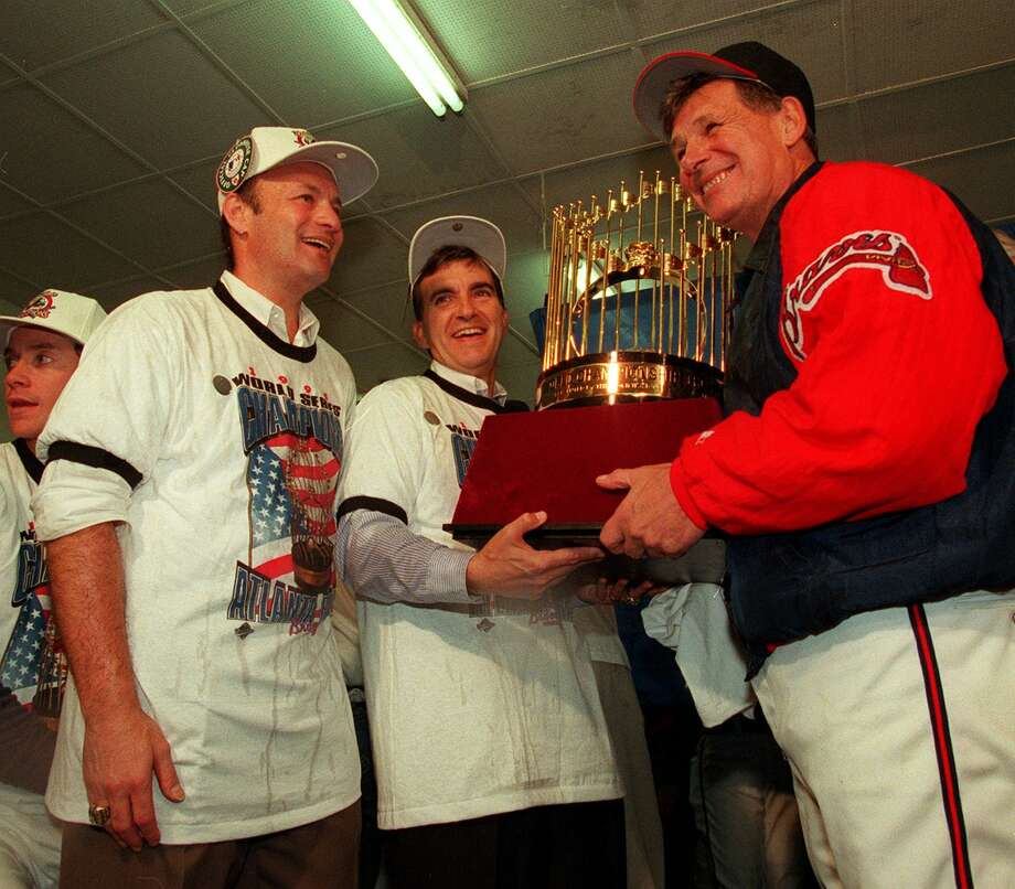 Bobby Cox led the Atlanta Braves to 14 consecutive division titles, including a World Series championship in 1995. Photo: TANNEN MAURY, AP / AP