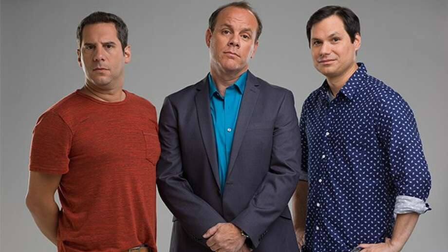 "Michael Ian Black is the co-host of ""Duck Quacks Don't Echo,"" premiering on National Geographic on Monday, Jan. 13."