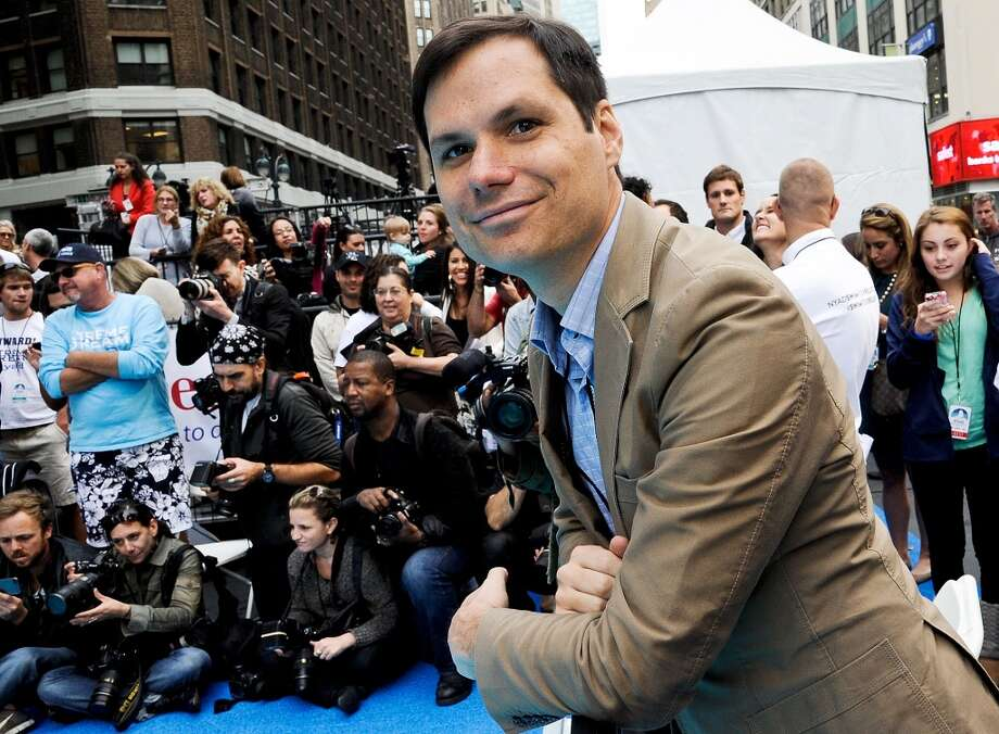 "NEW YORK, NY - OCTOBER 08:  Comedian Michael Ian Black attends the ""Swim for Relief"" benefiting Hurricane Sandy Recovery at Herald Square on October 8, 2013 in New York City.  (Photo by Daniel Zuchnik/WireImage) Photo: Daniel Zuchnik, WireImage"