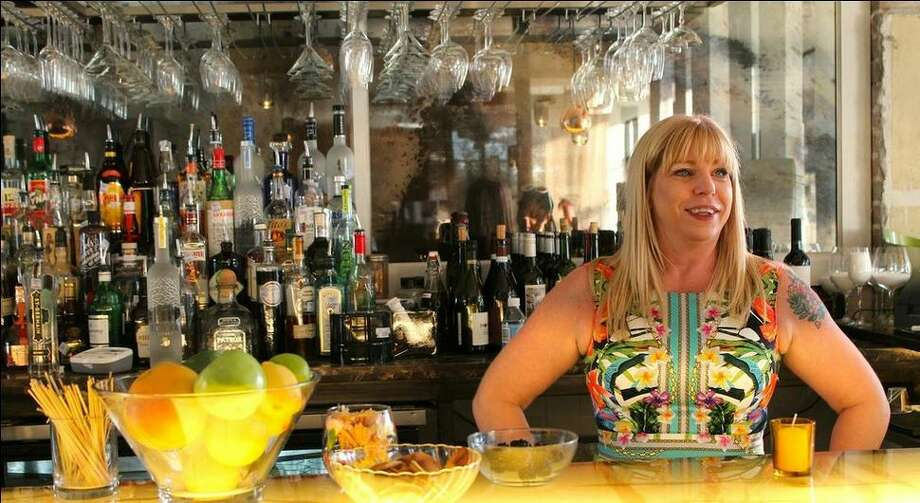 Laurie Sheddan Harvey is the bar manager at Triniti restaurant. Photo: Triniti Restaurants Photo